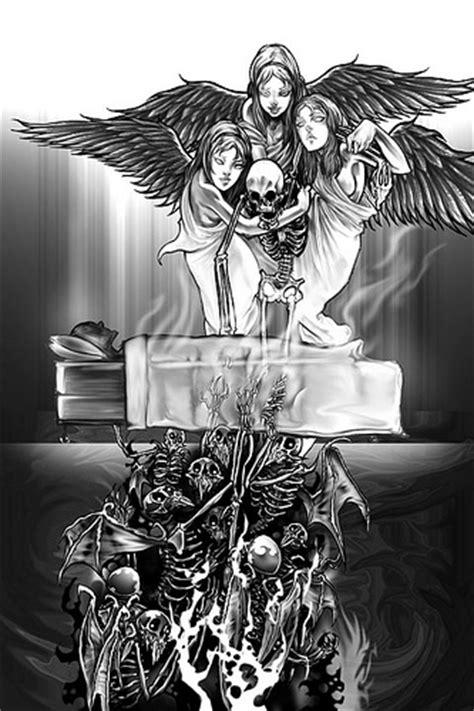 afterlife avenged sevenfold a7x afterlife panel illustration for the self titled
