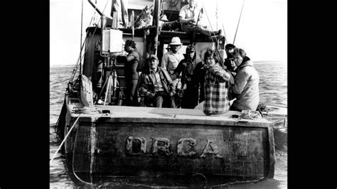 boat song from jaws behind the scenes photos jaws youtube