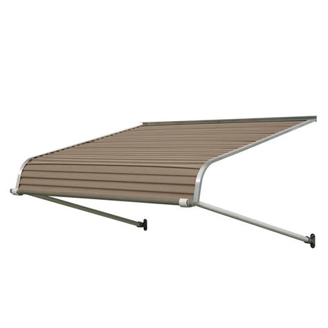 door awnings aluminum nuimage awnings 7 ft 1100 series door canopy aluminum
