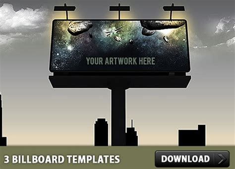 3 billboard psd templates free psd in photoshop psd psd