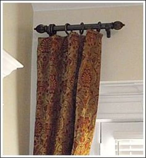 short curtain rods for decoration figuring out my wall of windows on pinterest short