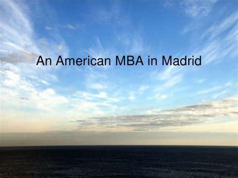 Mba Madrid by Presentacion Mba Philadelphia La Salle Madrid