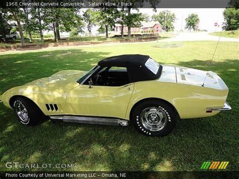 Safari Yellow by Safari Yellow 1968 Chevrolet Corvette Convertible