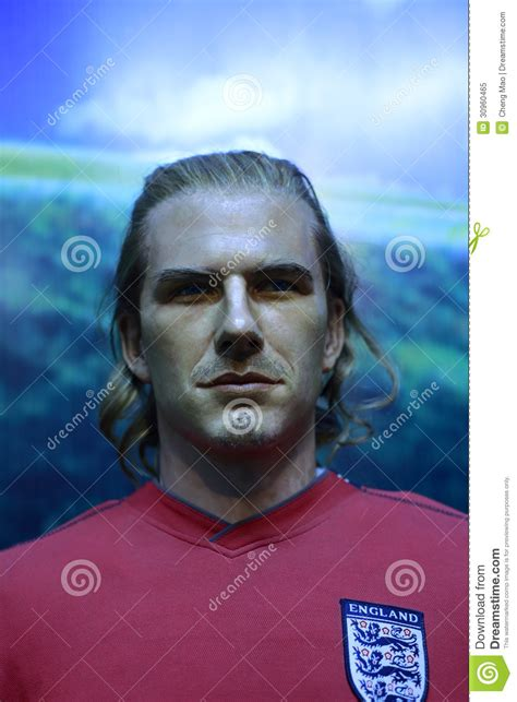 Another Bad Beckham Wax Figure by Beckham S Wax Figure Editorial Image Image 30960465