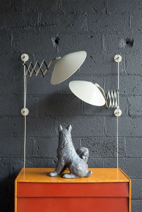 gerald thurston saucer l articulated sconces by gerald thurston for lightolier at