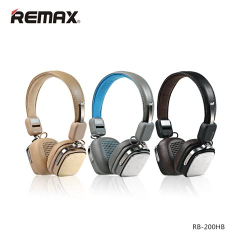Remax Bluetooth Headphone Rb 200hb remax bluetooth headphone rb 200hb black jakartanotebook