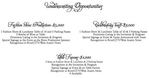 Sponsorship Letter For Hair Show fashion show sponsorship request letter template