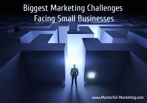 challenges that businesses marketing challenges facing small businesses