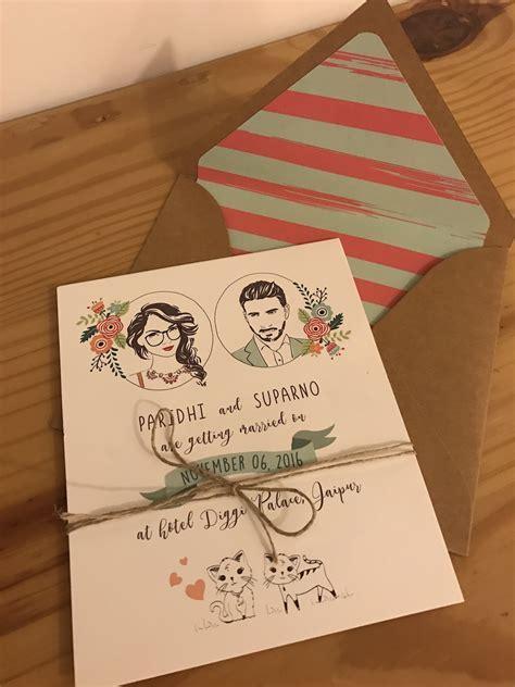 20  Unique & Creative Wedding Invitation Ideas for your
