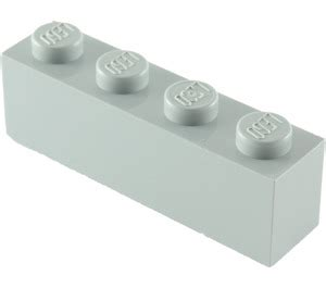 Dijamin Lego Part 3010 4211394 Medium Grey Brick 1x4 lego medium gray brick 1 x 4 3010 brick owl lego marketplace