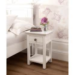 sophia open shabby chic bedside table works well alongside