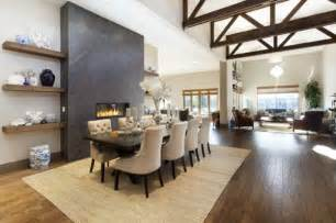 Dining Room With Fireplace Dining Room Fireplace Ideas For Winter Nights