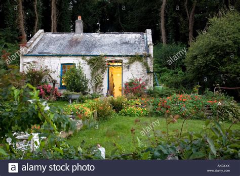 Cottage Looe by Cottage On Looe Island Cornwall Stock Photo Royalty Free