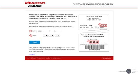Office Depot Locations Uk Office Depot Feedback Survey Guide Customer Survey Assist