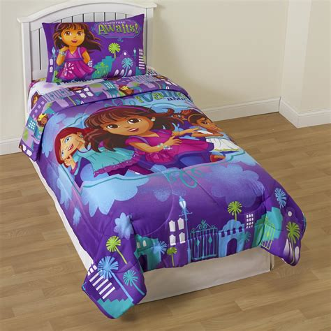 dora bedroom set dora the explorer bedding totally kids totally bedrooms