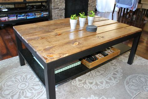 ikea coffee table hack 15 diy ikea lack table makeovers you can try at home