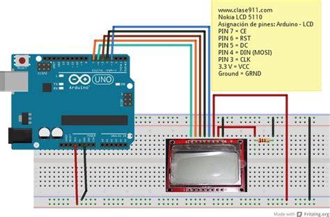 arduino tutorial nokia 5110 pantalla lcd nokia de 48 x 84 3310
