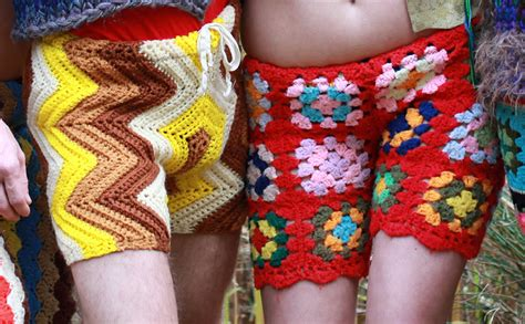 Crochet Shorts new fashion for crochet shorts made from recycled