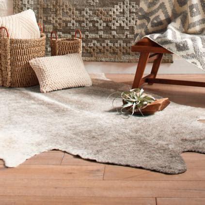 Faux Cowhide Rugs - faux cowhide rug grandin road