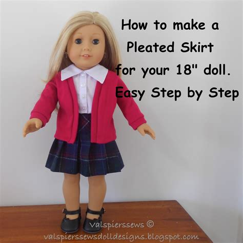 How To Make American Doll Stuff Out Of Paper - doll clothes patterns by valspierssews how to make a