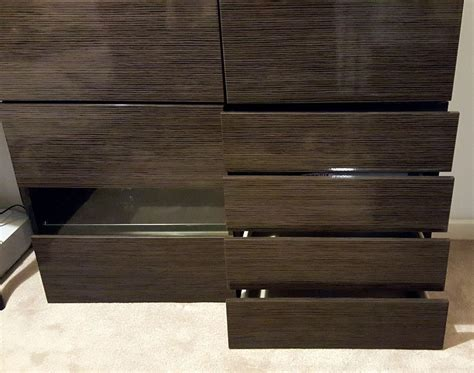 besta sideboard ikea ikea besta double sideboard black brown selsviken high gloss brown in sidcup