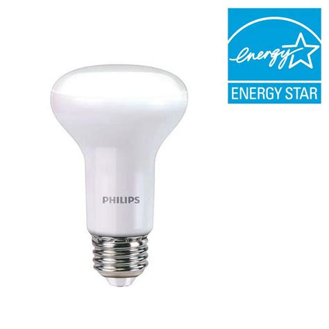 Lu Philips 45 Watt philips 45 watt equivalent r20 dimmable led energy light bulb soft white with warm glow
