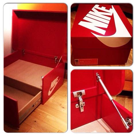 how to make shoe boxes for storage nike sneaker box shoe storage