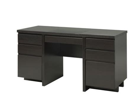 walmart desk with drawers brassex inc brassex office desk with 6 drawers 10327