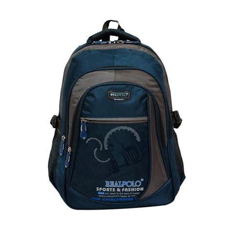 Ransel Besar Backpack Sablon Biru jual real polo 6317 biru muda backpack tas ransel harga kualitas terjamin blibli