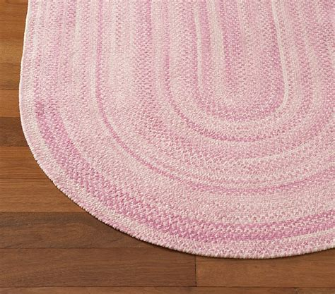 pottery barn braided rug girly bedroom makeover touijer designs