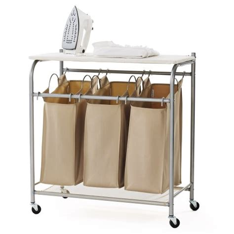Laundry Sorter With Ironing Board Top Funk This House Laundry With Ironing Board