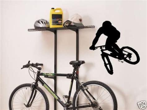 Sports Garage Cycling by Mountain Bike Wall Decal Decor Vinyl Bicycle Garage