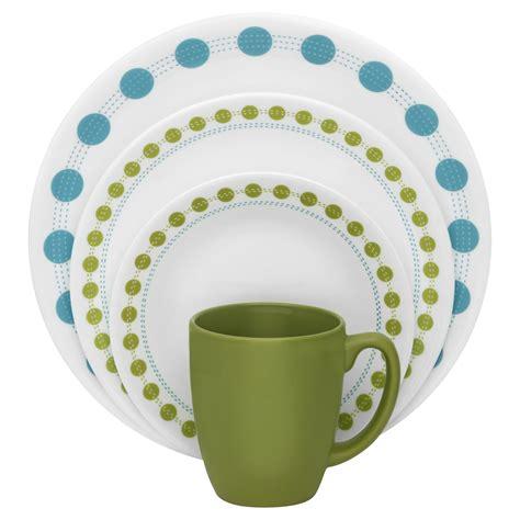 corelle south beach pattern corelle livingware 16 pc dinnerware set south beach
