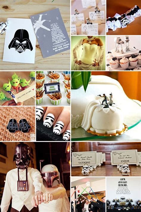 wars wedding theme