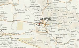 Goodyear Arizona Map by Goodyear Location Guide