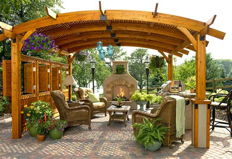 1000 Images About Garden Fireplaces And Fire Pits Outdoor Living Pergola