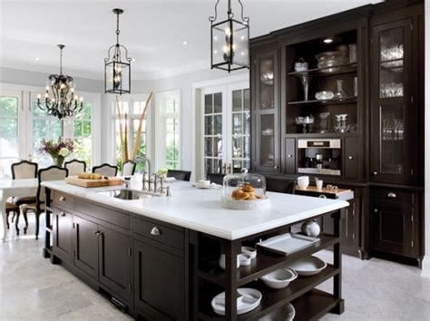 Black Kitchen Lighting 125 Awesome Kitchen Island Design Ideas Digsdigs