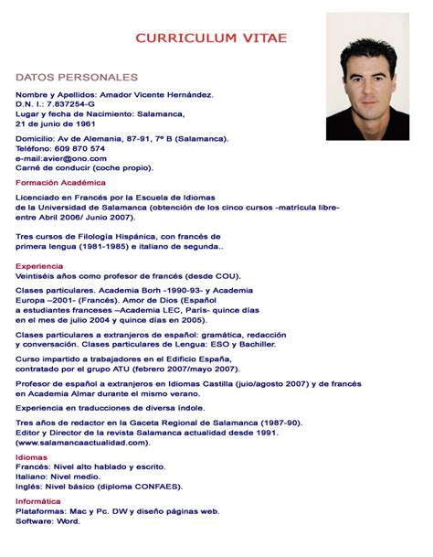 Usa Jobs Resume Format Example by Los 20 Errores De Un Curriculum Vitae Taringa