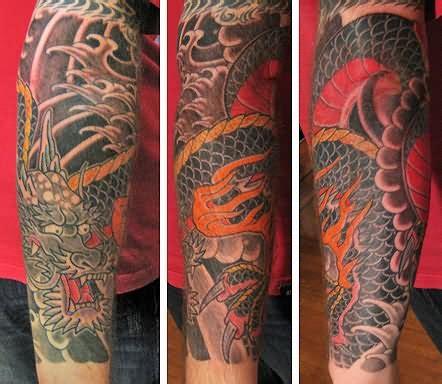 japanese dragon tattoo sleeve designs 29 japanese sleeve tattoos
