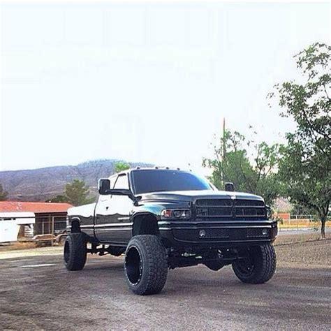 cummins truck 2nd gen black lifted dodge ram truck nice tires dodge cummins