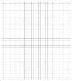 Graph Paper Template Print by 3 Graph Paper