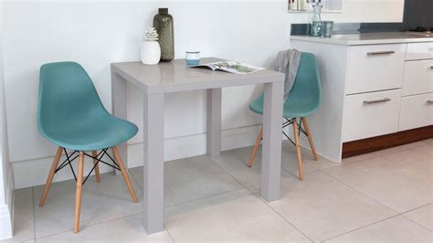 gray kitchen table modern grey high gloss dining table kitchen table
