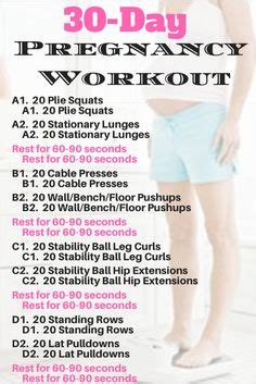 pregnancy workout pregnancy and pregnancy workout plans