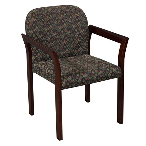 multi colored armchair gunlocke used mahogany stack chair multi colored