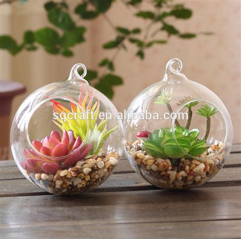 Sale Pot Bunga Mini decorative mini glass garden with artificial