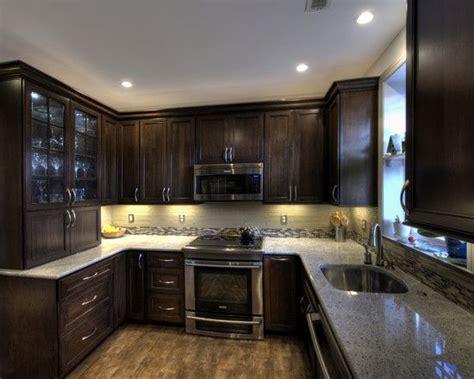 solid mirror backsplash reversadermcream com 17 best images about brown kitchen cabinets on pinterest