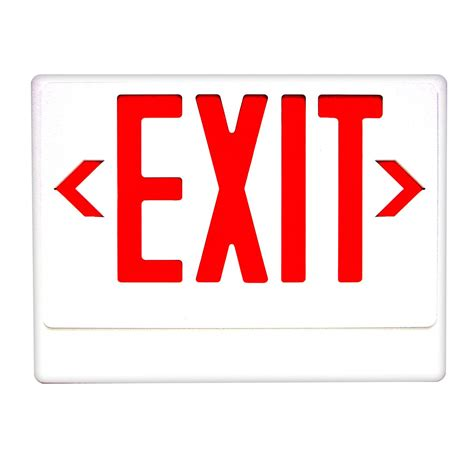 Exit Sign royal pacific rxl20 20 light exit sign atg stores
