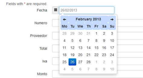 yii layout css php yii booster datepicker not working correctly stack