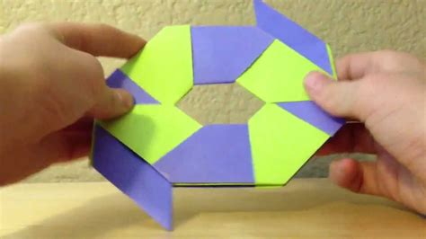 How To Make A Transforming Out Of Paper - how to make an origami transforming