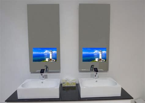 bathroom tv mirror glass mirror display mirror tv pinterest display and mirror